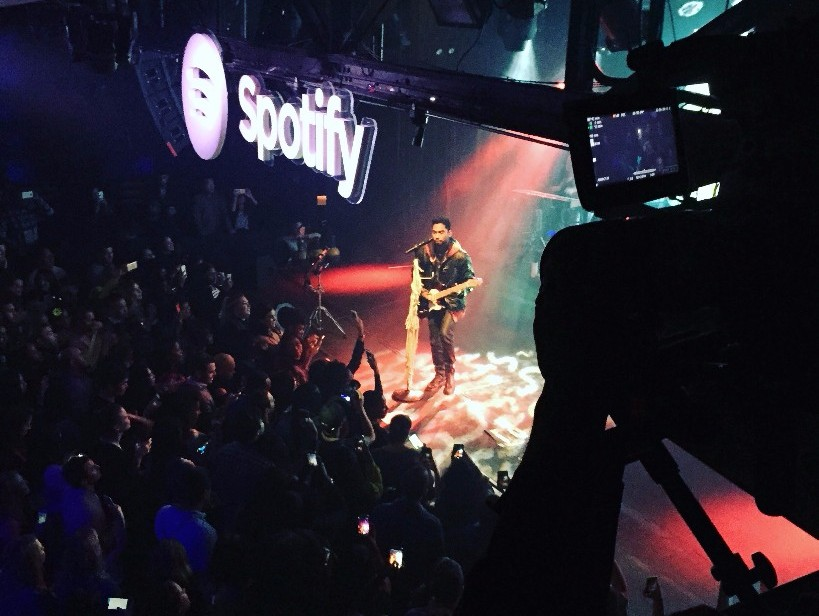 Spotify Roadshow concert from ASL